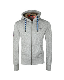 Superdry Mens Grey Orange Label Mountain Ziphood