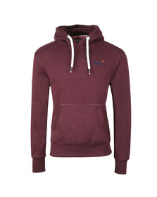 Superdry Mens Red Orange Label Hood
