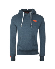 Superdry Mens Blue Orange Label Hood