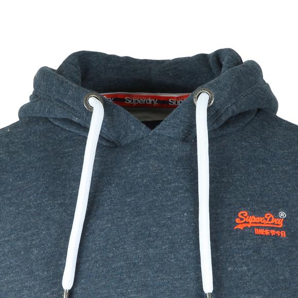 Superdry Mens Blue Orange Label Hood main image