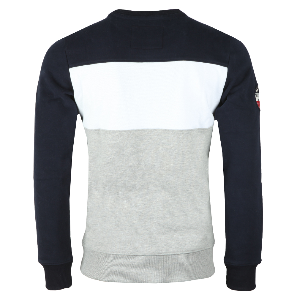 Academy Colour Block Crew Sweat main image