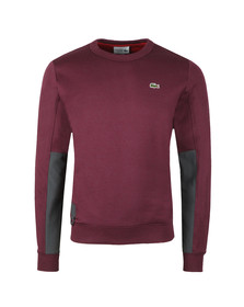 Lacoste Sport Mens Purple SH9510 Sweatshirt