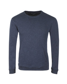 Lacoste Mens Blue Sleepwear Crew Neck Sweat