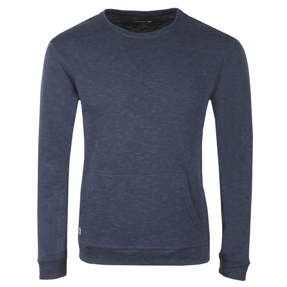 Lacoste Mens Blue Sleepwear Crew Neck Sweat main image