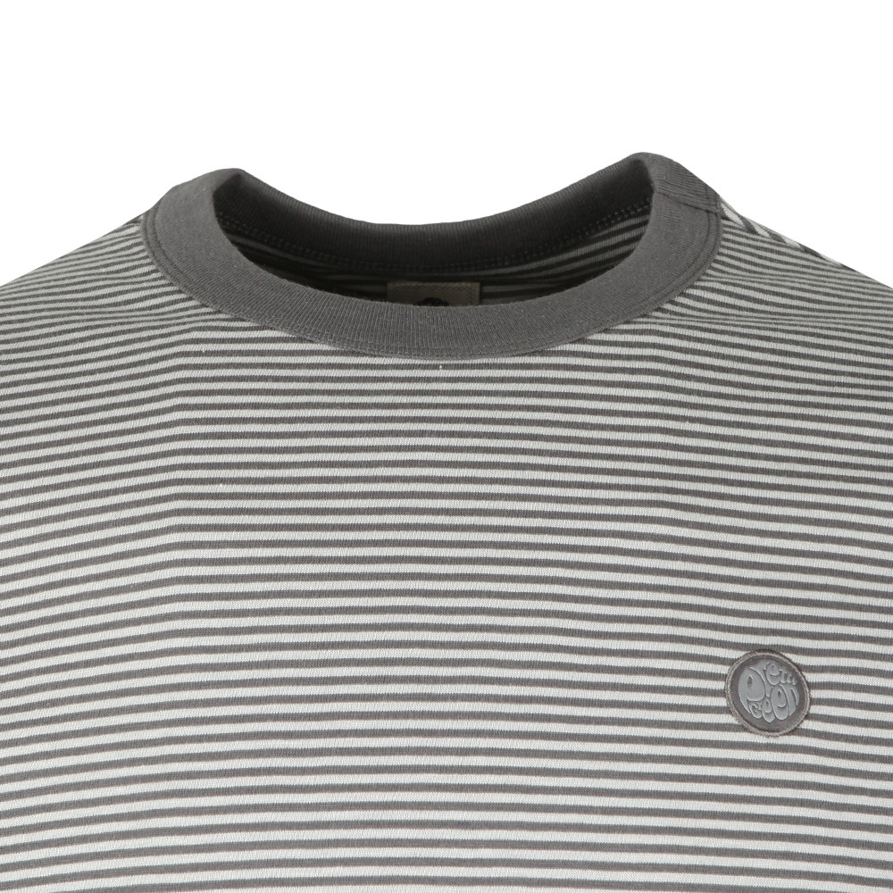 S/S Striped Ribbed Tee main image