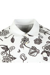 Pretty Green Mens Grey S/S Prudence Print Polo