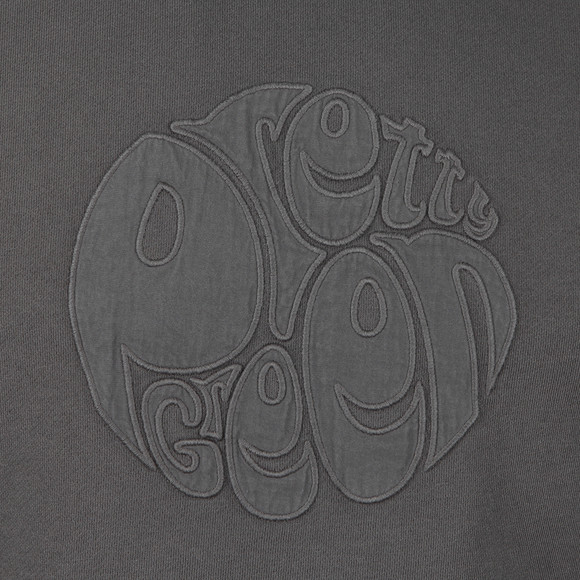 Pretty Green Mens Grey Applique Sweat main image