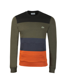 Lacoste Mens Black SH1902 Sweat