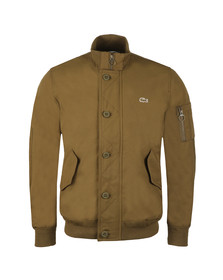 Lacoste Mens Green BH9359 Bomber Jacket