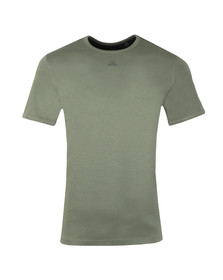 Ted Baker Mens Green SS Branded Anniversary T-Shirt
