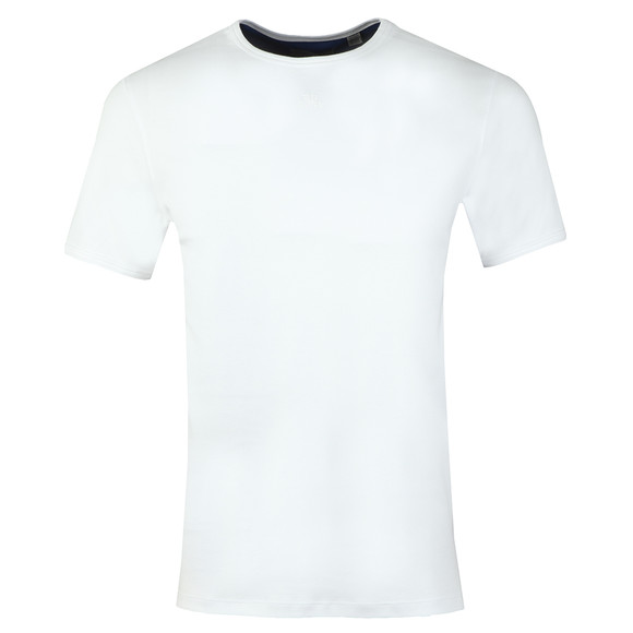 Ted Baker Mens White SS Branded Anniversary T-Shirt main image