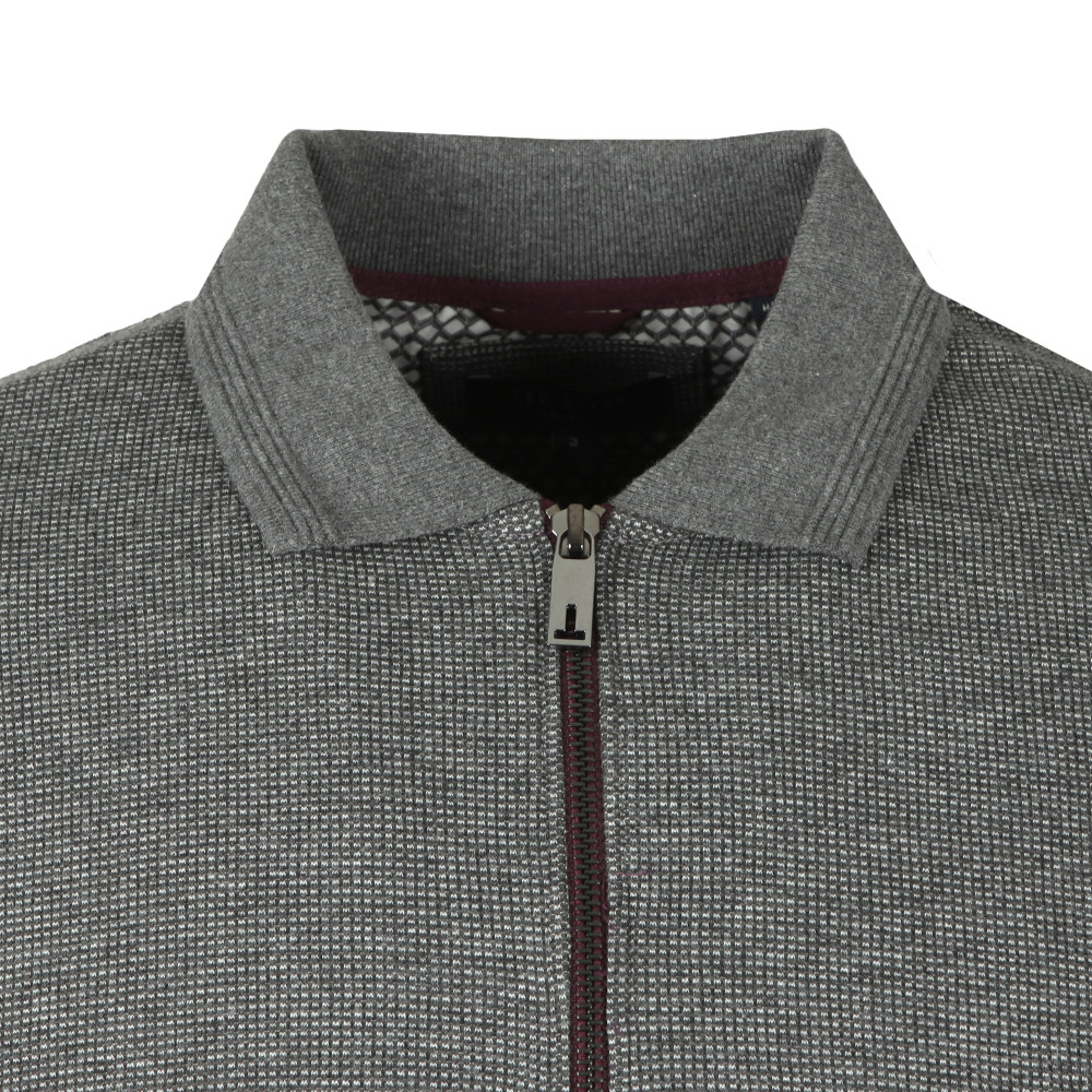 Caoco LS Zip Detail Polo main image