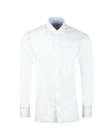 Ted Baker Mens White Rosest Endurance Slick Rick Shirt