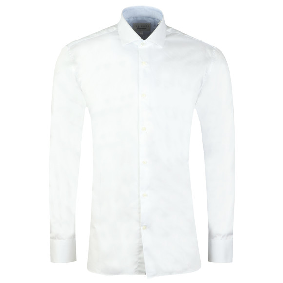 Ted Baker Mens White Rosest Endurance Slick Rick Shirt main image