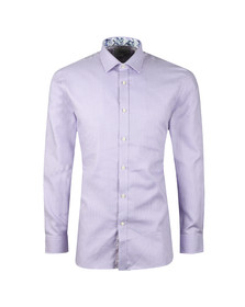 Ted Baker Mens Purple Franks Tonal Endurace Shirt