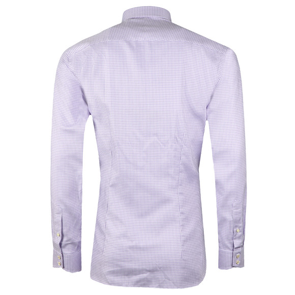 Ted Baker Mens Purple Franks Tonal Endurace Shirt main image
