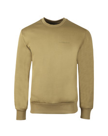 J.Lindeberg Mens Green Chip Lux Sweat