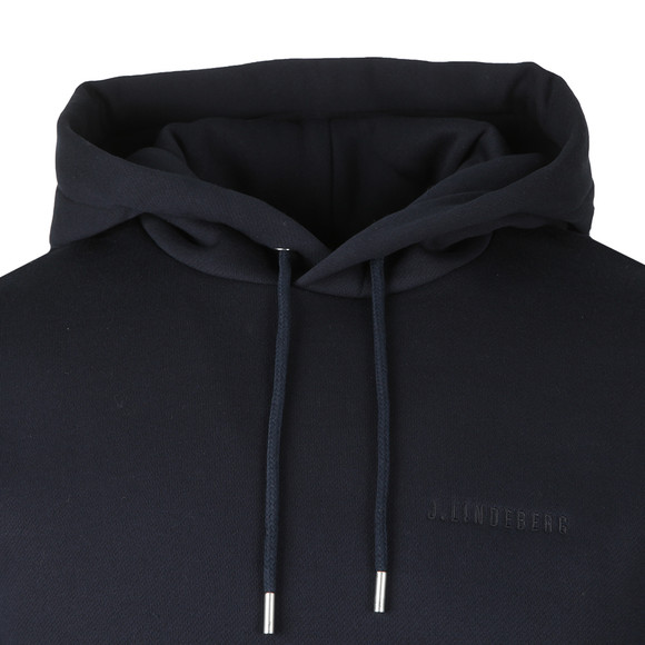 J.Lindeberg Mens Blue Chip Hood Lux Sweat main image