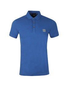 BOSS Orange Mens Blue Passenger Polo Shirt
