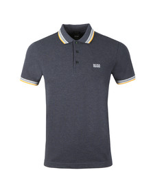 BOSS Green Mens Blue Paddy Polo Shirt