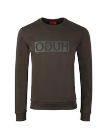 HUGO Mens Green Dicago-U3 Sweatshirt