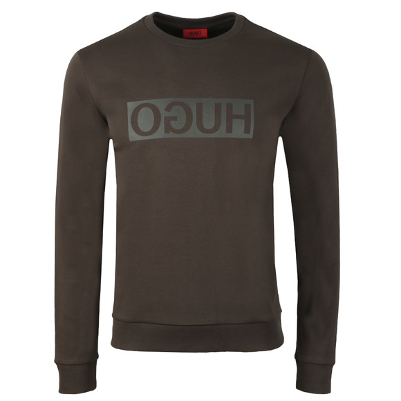 HUGO Mens Green Dicago-U3 Sweatshirt main image