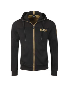 BOSS Mens Black Athleisure Saggy Hoody