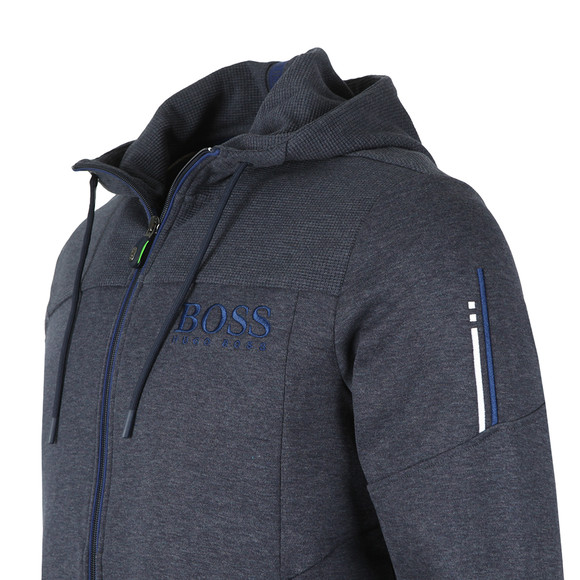 BOSS Green Mens Blue Saggy Hoody main image
