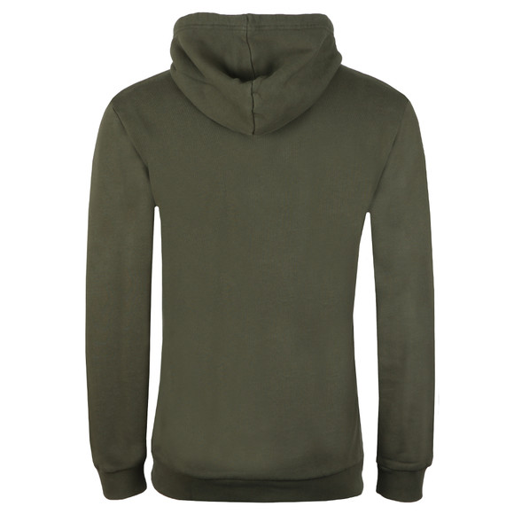 Adidas Originals Mens Green Trefoil Hoodie main image