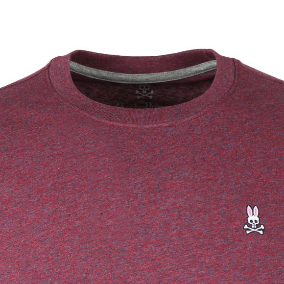 Psycho Bunny Mens Red Classic Crew Neck T-Shirt main image