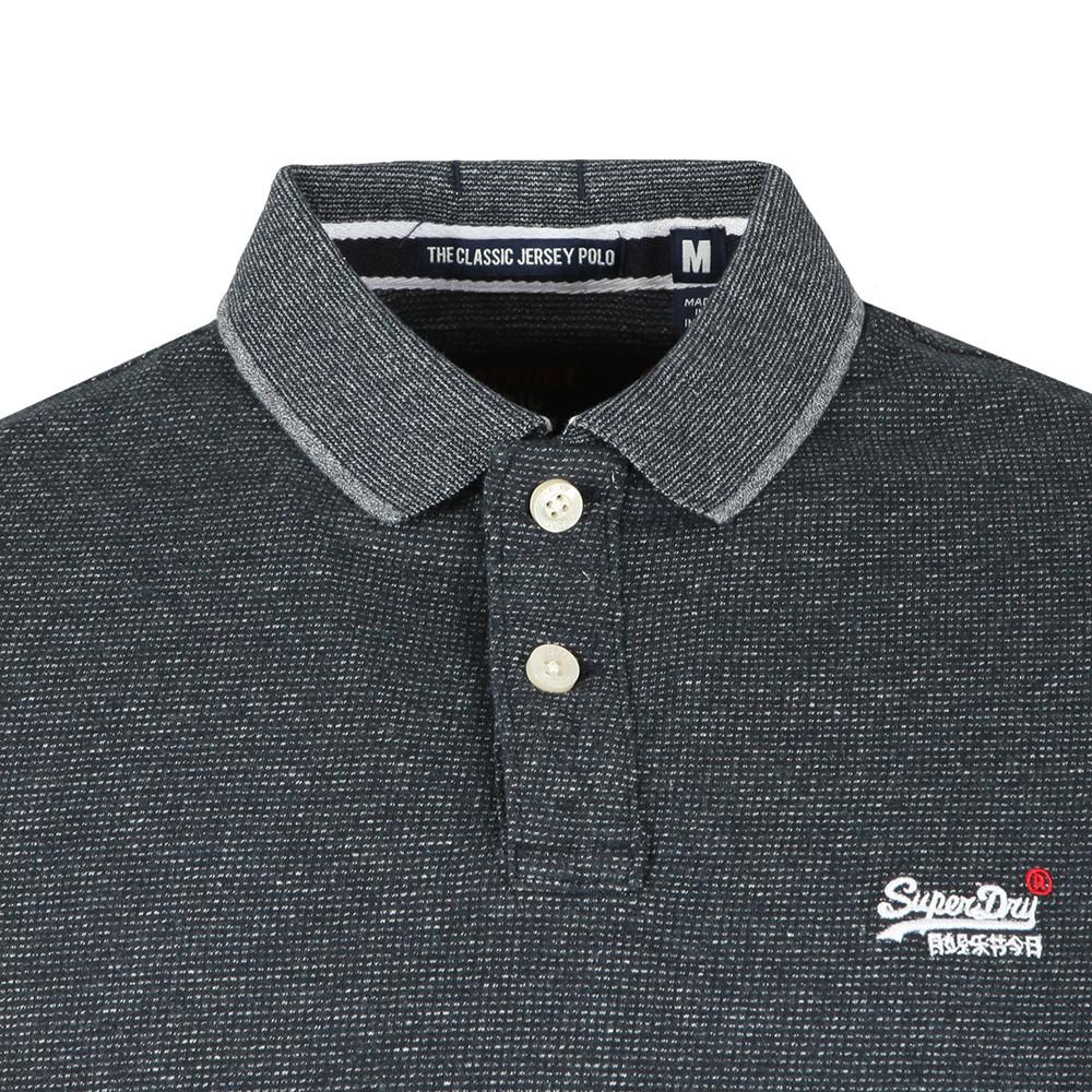 Classic SS Jacq'd Jersey Polo main image