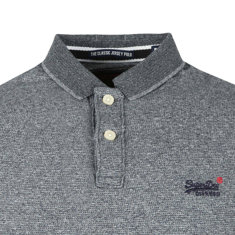 Classic SS Jacq'd Jersey Polo main image
