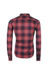 Superdry Mens Red Winter Washbasket Shirt
