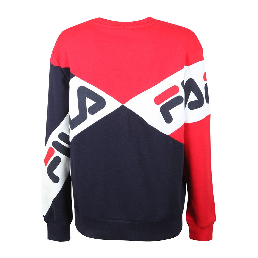7fe1e72ab74d Fila Lidia Cotton Blend Sweatshirt   Masdings
