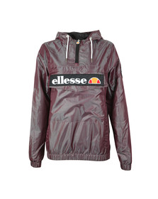 Ellesse Womens Purple Memphis Overhead Jacket