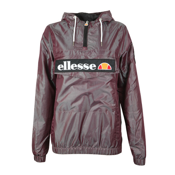 Ellesse Womens Purple Memphis Overhead Jacket main image