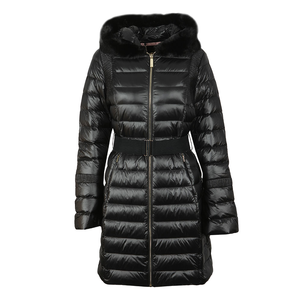 Yandle Long Down Coat With Hood main image
