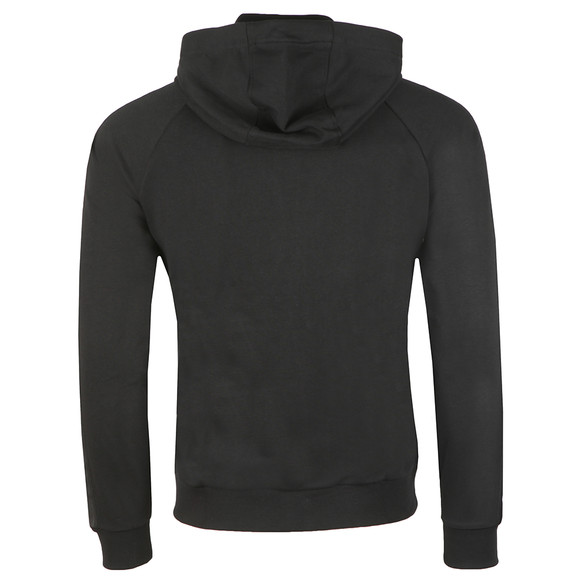Emporio Armani Mens Black Eagle Taping Full Zip Hoody main image