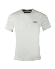 Barbour International Mens Grey S/S Small Logo Tee