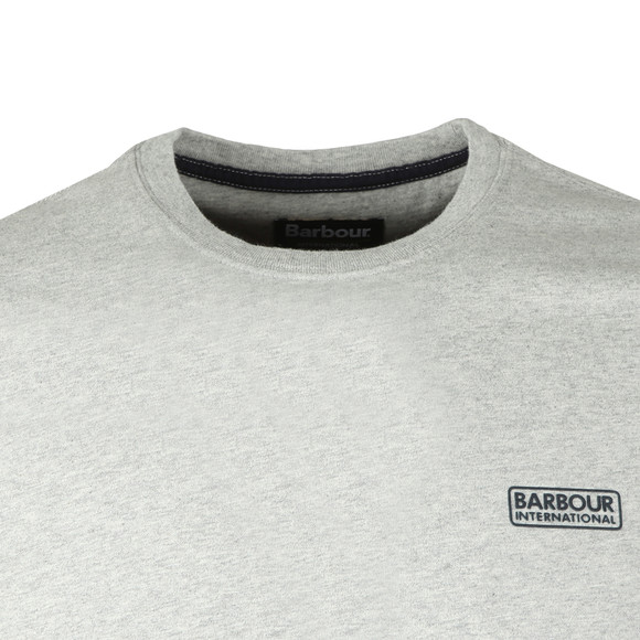 Barbour International Mens Grey Small Logo Tee main image