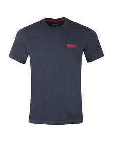 Barbour International Mens Blue S/S Small Logo Tee