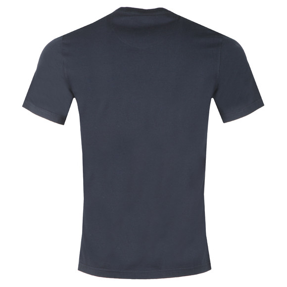 Barbour International Mens Blue S/S Small Logo Tee main image