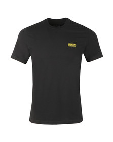 Barbour International Mens Black S/S Small Logo Tee