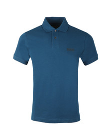 Barbour International Mens Blue Essential Polo Shirt
