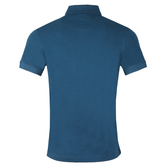 Barbour International Mens Blue Essential Polo Shirt main image