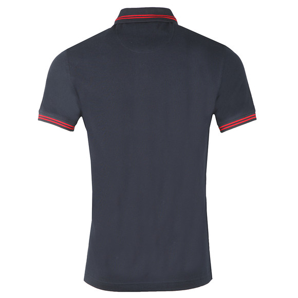 Barbour International Mens Blue Essential Tipped Polo main image