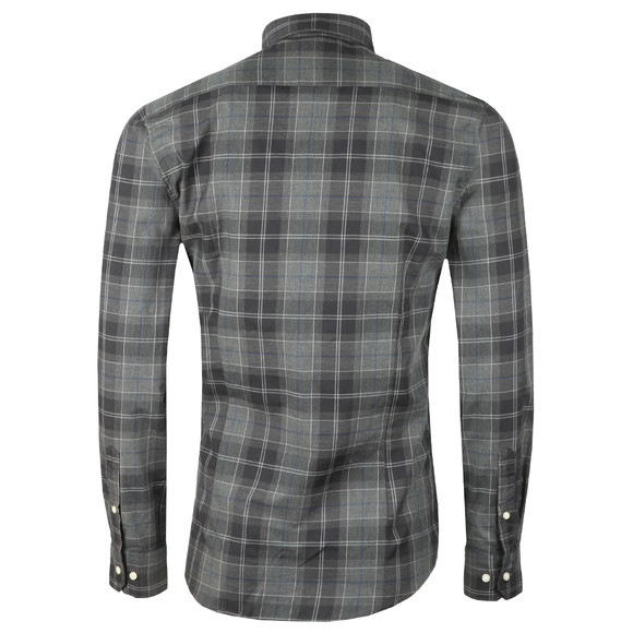 Barbour Lifestyle Mens Grey L/S Wetherham Shirt main image