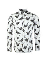 Beatles Blackbird Print Shirt
