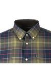 Barbour Countrywear Mens Green L/S Murray Shirt