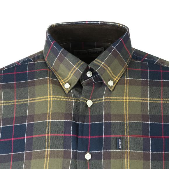 Barbour Countrywear Mens Green L/S Murray Shirt main image